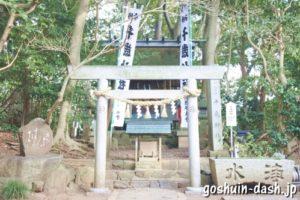 千歳神社(竹島八百富神社境内)