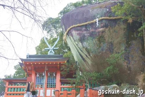 神倉神社(和歌山県新宮市)ゴトビキ岩