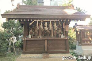 幸宮社(名古屋大須三輪神社末社)