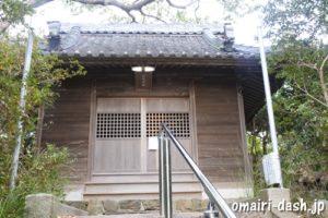 御鍬神社(愛知県蒲郡市)社殿