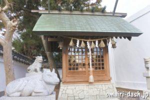 天満社・諏訪社(蒲郡八劔神社末社)