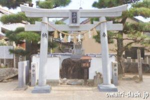 水神宮(蒲郡八劔神社末社)