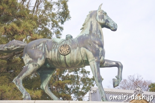 八劔神社(愛知県蒲郡市)神馬