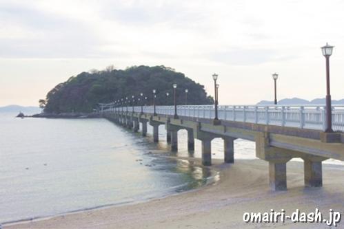 竹島全景(愛知県蒲郡市)