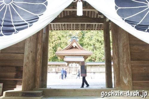 熊野本宮大社(熊野三山)神門