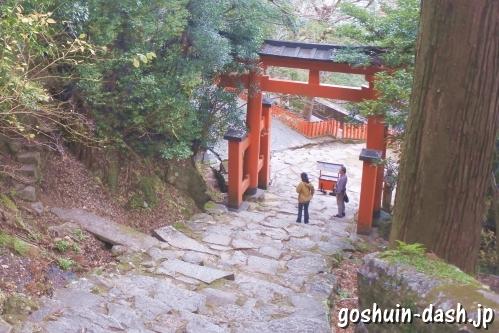 神倉神社(和歌山県新宮市)帰り道