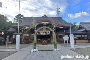 田縣神社(愛知県小牧市)拝殿