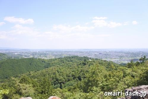 大縣神社奥宮(尾張本宮山頂)からの眺め