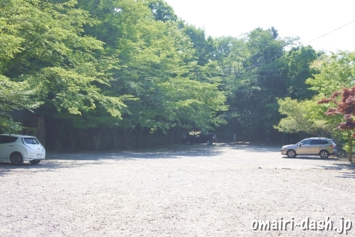 尾張冨士大宮浅間神社(愛知県犬山市)参拝者駐車場