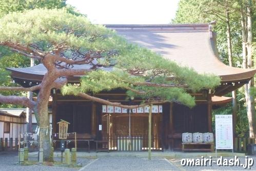 尾張冨士大宮浅間神社(愛知県犬山市)拝殿