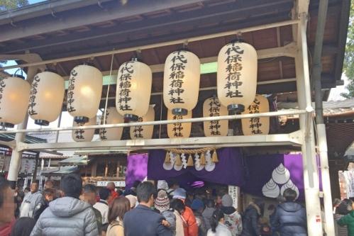 千代保稲荷神社(岐阜県海津市・おちょぼ稲荷)向拝所