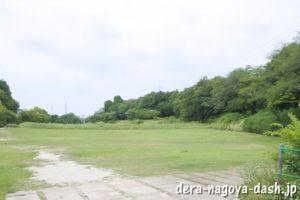 曲輪(織田信長屋敷跡・小牧山史跡公園)