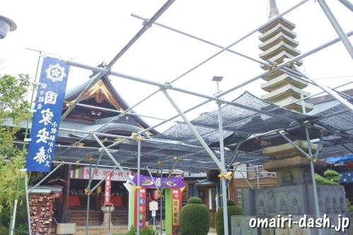 間々観音(愛知県小牧市)観音堂と十二重の塔