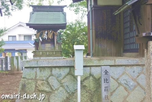 小牧神明社(愛知県小牧市)金比羅社