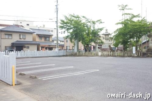小牧神明社(愛知県小牧市)駐車場