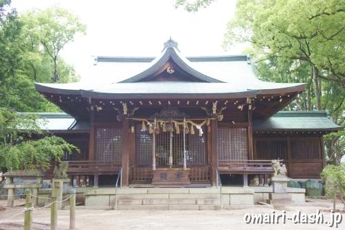 小牧神明社(愛知県小牧市)拝殿