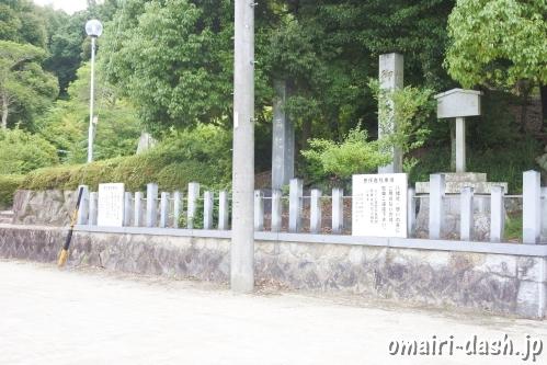 山口八幡社(愛知県瀬戸市)駐車場