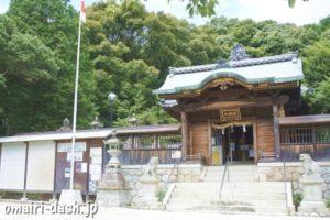 山口八幡社(愛知県瀬戸市)楼門