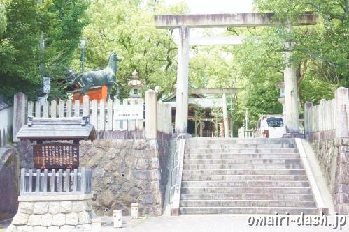 深川神社(愛知県瀬戸市)二の鳥居