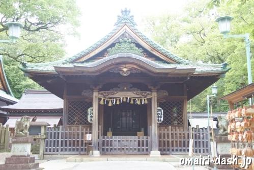深川神社(愛知県瀬戸市)拝殿
