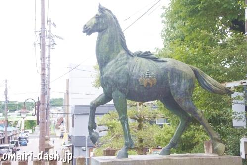 深川神社(愛知県瀬戸市)神馬(五七桐)