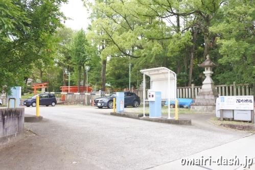 深川神社(愛知県瀬戸市)駐車場
