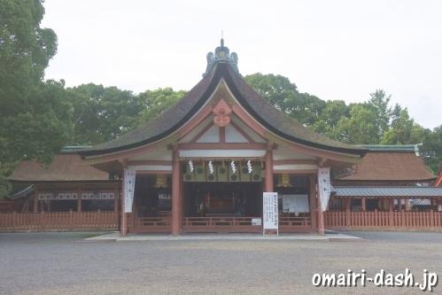 津島神社(愛知県津島市)拝殿