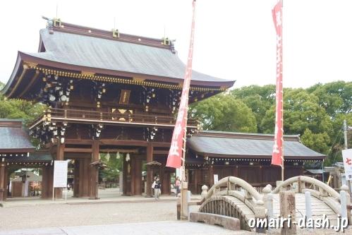 真清田神社(愛知県一宮市・尾張国一之宮)楼門