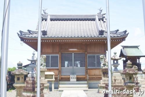 白髭神社(岐阜県大垣市墨俣町)拝殿