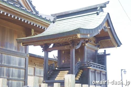 豊国神社(墨俣白髭神社境内)本殿