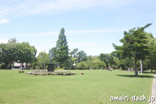 大垣公園(大垣城公園)芝生広場