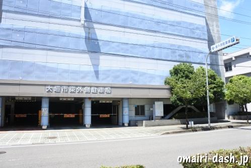 大垣市東外側駐車場