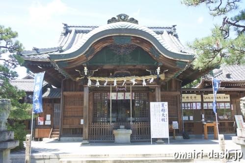 大垣八幡神社(岐阜県大垣市)拝殿
