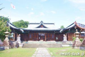 濃飛護國神社(岐阜県大垣市)社殿