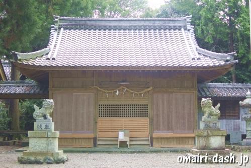 南宮御旅神社(岐阜県不破郡垂井町)拝殿