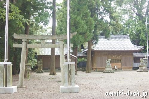 南宮御旅神社と白鬚神社(岐阜県不破郡垂井町)