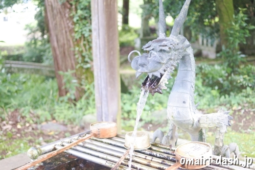 伊富岐神社(岐阜県不破郡垂井町)手水舎