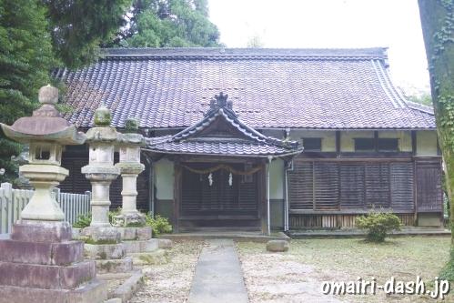 伊富岐神社(岐阜県不破郡垂井町)社務所