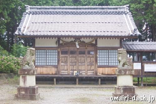 大領神社(岐阜県不破郡垂井町)拝殿