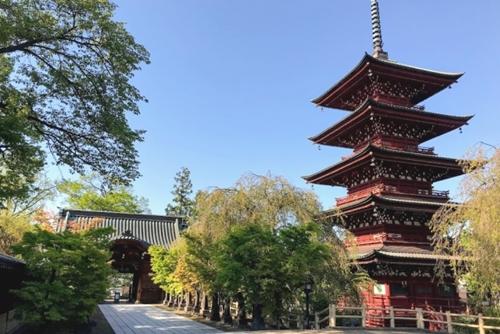 最勝院(青森県弘前市)五重塔