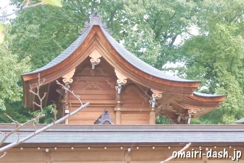 渋川神社(愛知県尾張旭市)本殿と西五社乃宮