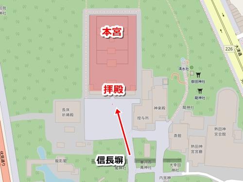 熱田神宮の観光モデルコース(見どころ3.本宮拝殿)