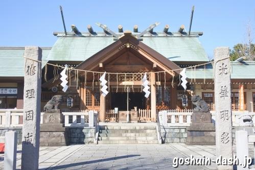 石浜神社(東京都荒川区)社殿
