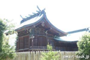 濃飛護国神社(岐阜県大垣市)本殿