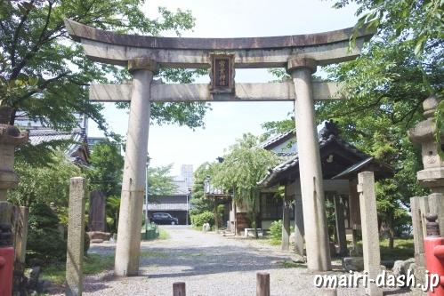 常葉神社(岐阜県大垣市)鳥居