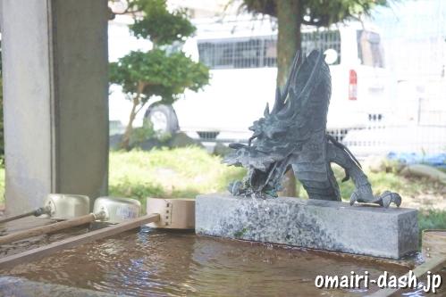 常葉神社(岐阜県大垣市)手水舎