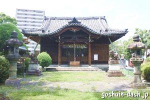 常葉神社(岐阜県大垣市)拝殿