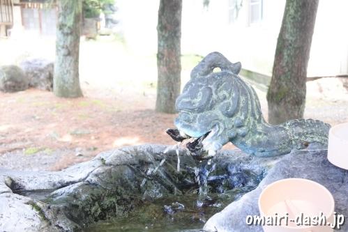 濃飛護国神社(岐阜県大垣市)手水舎