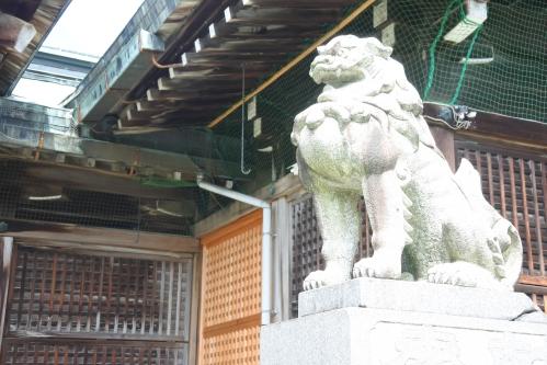 濃飛護国神社(岐阜県大垣市)狛犬
