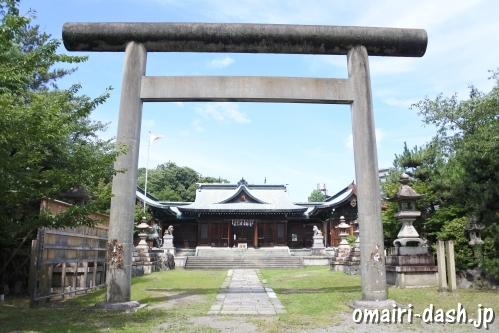 濃飛護国神社(岐阜県大垣市)鳥居